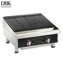 OEM service stainless steel gas barbecue grill portable indoor portable commercial stone gas bbq grill
