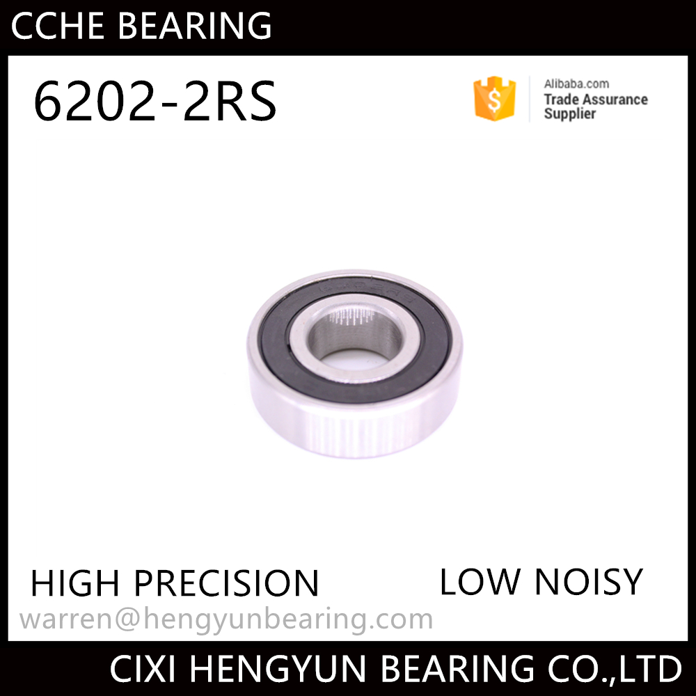 high quality Z3V3 Bearing 6202 2RS 15*35*11mm with ball bearing list