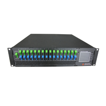 FTTH CATV 1550 nm Combiner 16 Port WDM Fiber Optical Amplifier PON EDFA for OLT
