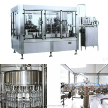 Fully Automatic Plastic Bottle Liquid Filling Capping Machinery Production Line
