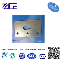 Photo frame accessories of hardware stamping
