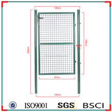 Useful Plastic Garden Fence Gate, cheap farm fence, 3 Folds Wire Mesh Fence