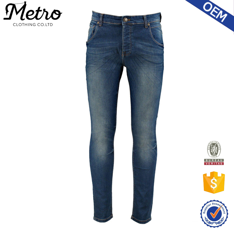 2016 Hot Sale Mid Wash Mens Denim Jeans Pants In Bulk
