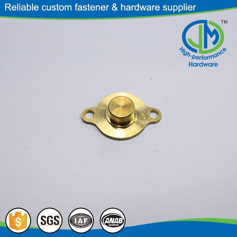 High strength precision metal stamping and plating
