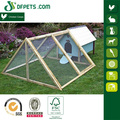 New Design Chicken Coop With Triangle Wire Mesh Run