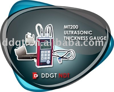 Mitech Portable ultrasonic thickness tester MT200