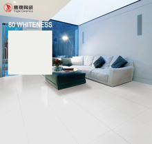 Eagle Ceramics Foshan brand full body nano polished floor 60 whitness liquid super white porcelain tile