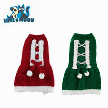 Christmas Dog Dress Winter Xmas Party Dog Costume Cat Clothes Pet Clothing Dresses Sweater