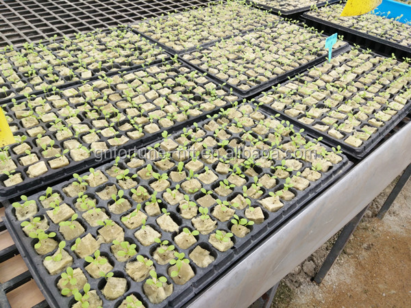 China supply agricultural hydroponics planting rockwool