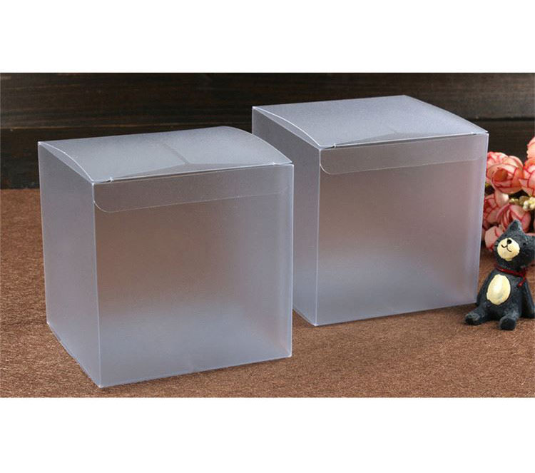 New products custom design home used clear plastic cube pvc boxes