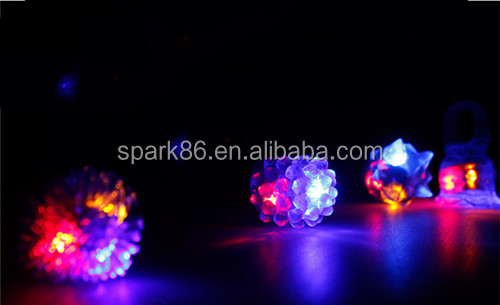 plastic Flashing Led Bumpy Ring for promotional items