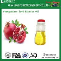 100% OEM factory natural pomegranate seed oil pomegranate fruit juice/ pomegranate peel extract powder