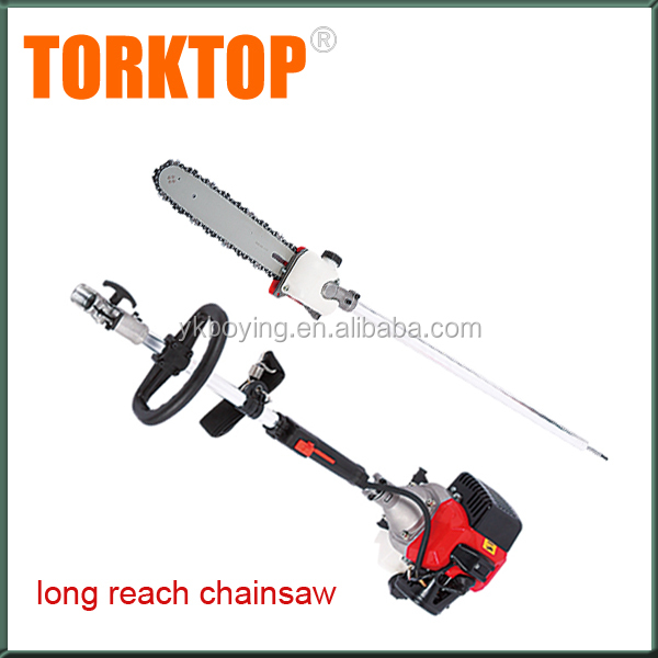 Gasoline Wood Cutting machine Long Reach Chainsaws for sale