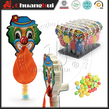 Cheap Small Plastic Toy Clown with Balloon