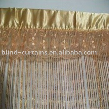 decoration String fringe curtain latest design