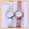 Assisi Unique Charm Ladies Stone Bracelet Wrist Watch with Japan Quartz Movt