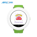 APPSCOMM 2018 Smart Watch Touch Screen GPS Tracker Wristwatches Real Time Positioning Smart Watch Phone for Child