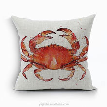 custom cartoon animal cushion covers crab chair cushion cover