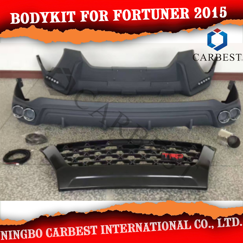 High Quality Car Bodykit For Toyota Fortuner 2016