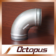 Glavaizned Sheet Ventilation Ducts Fittings 90 Degree Elbow