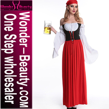 Oktoberfest Beer Maid Peasant Halloween Dress Adult Costume