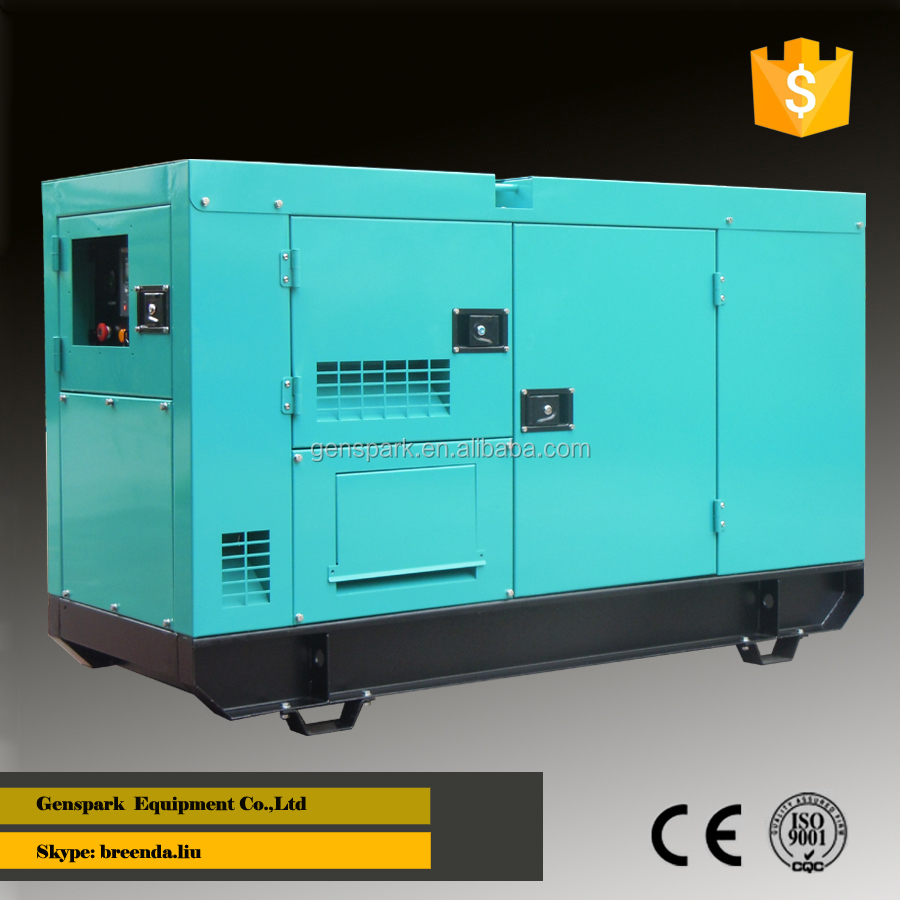 24KW 3 phase 380V Silent diesel generator powered by Foton engine 4JB1T