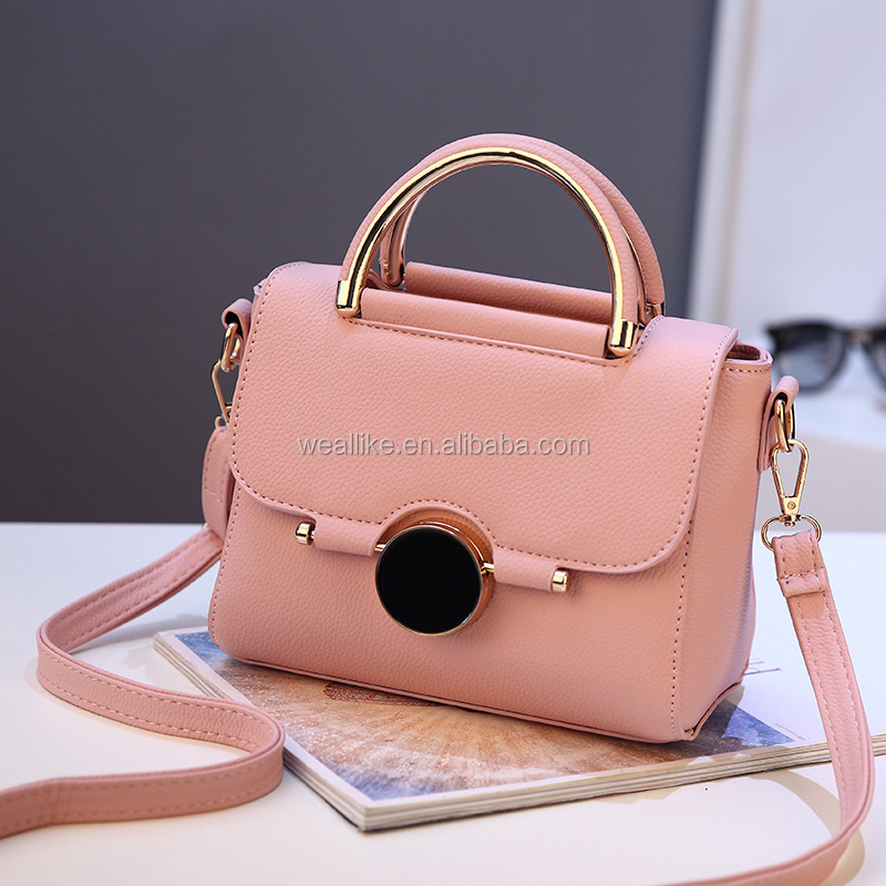 China Suppliers Online Shopping Ladies Handbag Sets PU Leather Purses Totes and Bags
