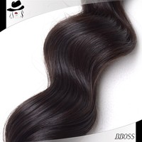 Most popular in stock free market human hair,best quality human hair