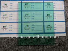Anti-UV/ultraviolet-proof green color round polycarbonate sheet by Lexan/bayer