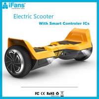 E Scooter 6.5inch Self Balancing Electric Hoverboard 700W Factory Private Mould with LED Light OEM