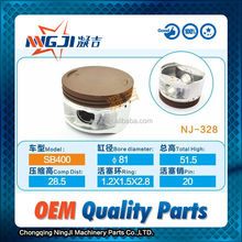 400cc Motorcycle Engine Piston set and Piston Ring SB400 81mm diameter