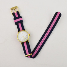 D style fabric nylon watch interchangeable strap watches