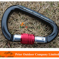 NEW! CE+EN High Strength 28KN Aluminum Hiking Carabiner Hook wholesale & custom OEM