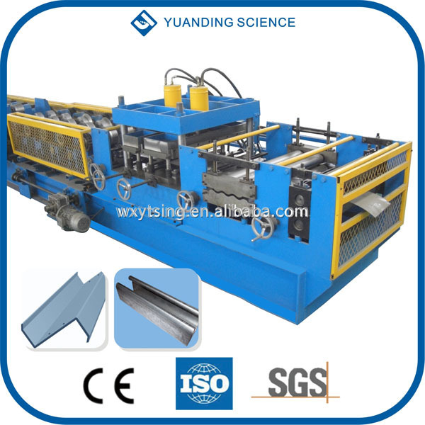 Passed CE and ISO YTSING-YD-1056 New Design Quick Change C Z Purlin Interchangeable Forming Machine Manufacturer