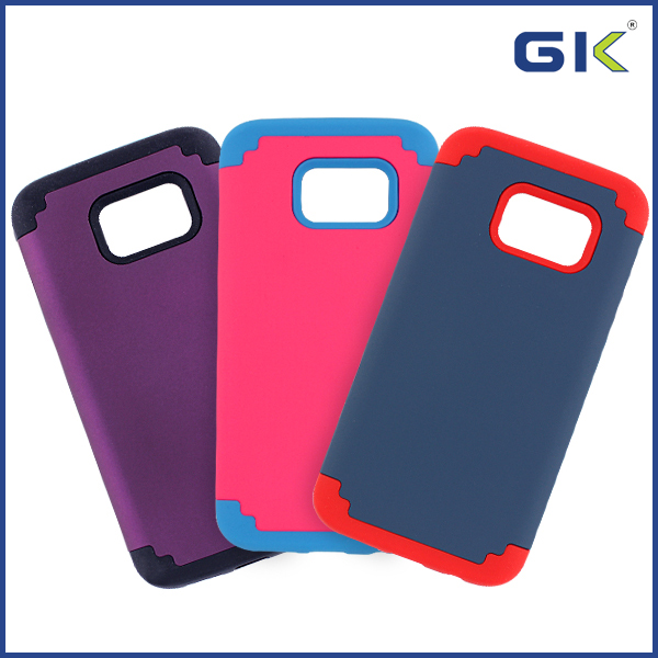 [GGIT] Wholesale Fashion 2 in1 Soft PC Silicone Back Cover For Samsung Galaxy S7 Case