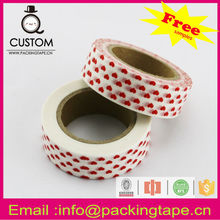 Colorful yoshino masking tape for decorative masking and gift packaging WT-90