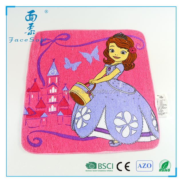 Supply all kinds of compress towel and size for kid