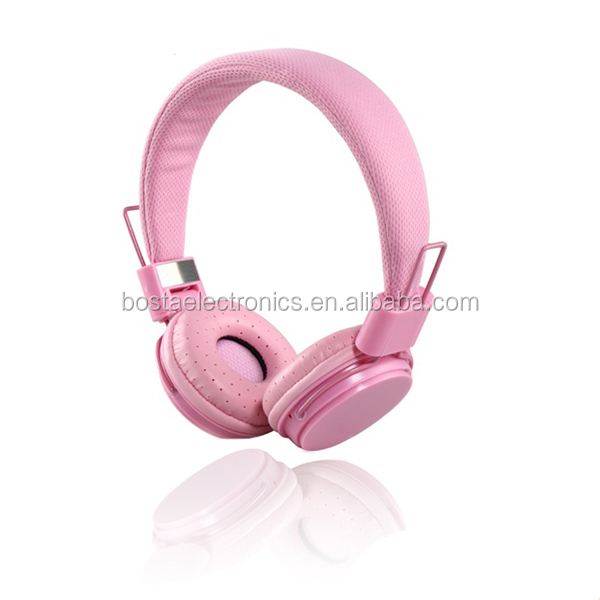 Best stylish stereo fancy wholesale colorful promotional funny headphones for children