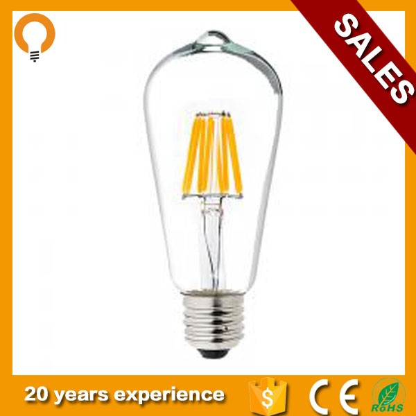 2017 Hot Sale China Manufacturer E27 4w LED Filament Bulb