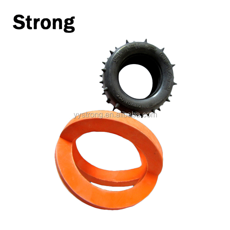 customized molded hardness rubber molding silicone part in yuyao strong