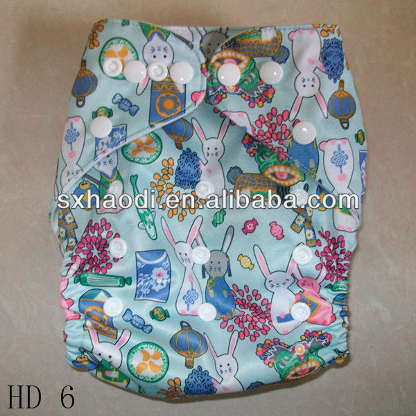 High Quality New Pattern Adjustable Baby Diaper Reusable Water Proof Baby Diapers