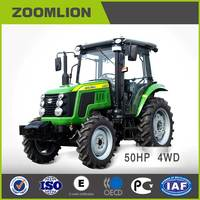 CE certificate Zoomlion 50HP 4WD RK504 Cheap Farm Tractor