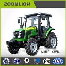 CE certificate Zoomlion 50HP 4WD RK504 Cheap Farm compact Tractor