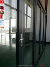 China Supplier Manufacturer Price JOLONG AS2047 AS1228 AAMA Aluminum Folding Door With Low e Tempered Glass For Sunrooms