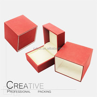 Factory colourful touch-paper plastic watch box lady watch