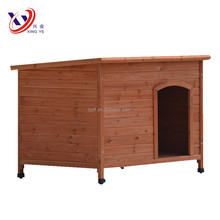 2017 Green Roof Large Wooden Dog House Wholesale