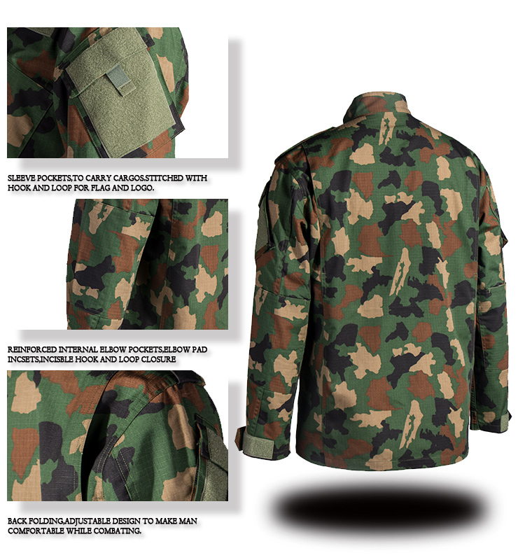 Factory Wholesale Woodland Africa Army Uniforms