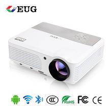3600 lumens Android 6.0 system Full HD 1080p 3D LED LCD <strong>projector</strong> for home movie