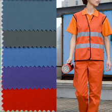 poly cotton reversible khaki fabric fabric for medical uniform