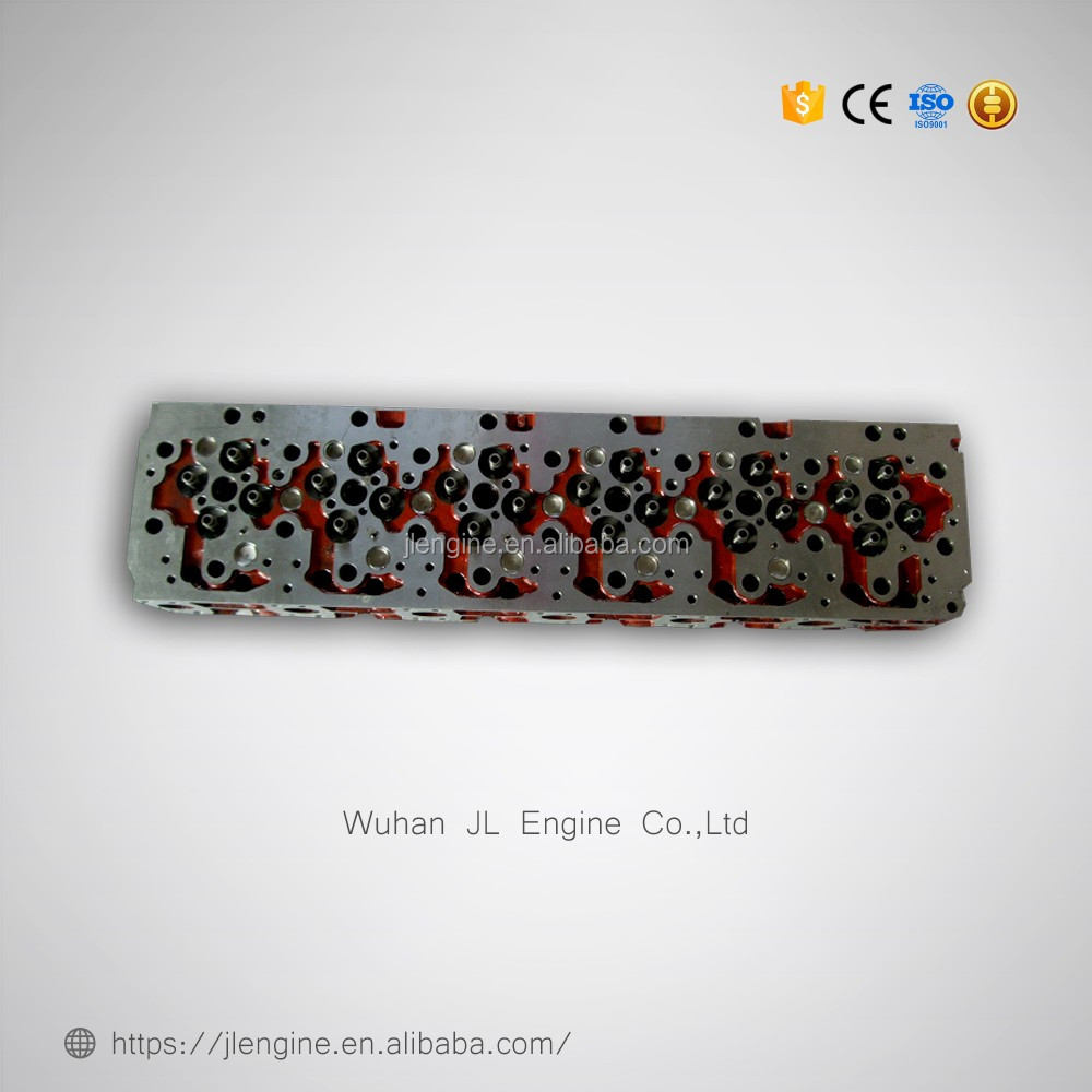 P11C Cylinder head for construction machinery engine part